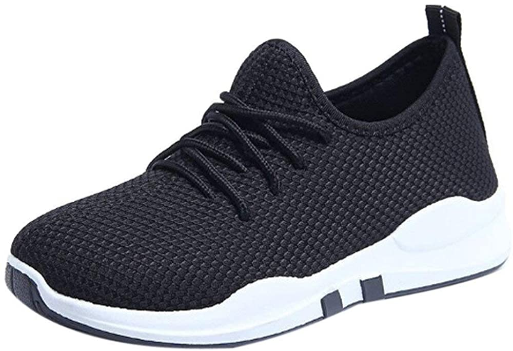 SSYUNO Women's Casual Walking Athletic Running Sneakers Mesh Breathable Comfort Tennis Jogging Sport Gym Shoes