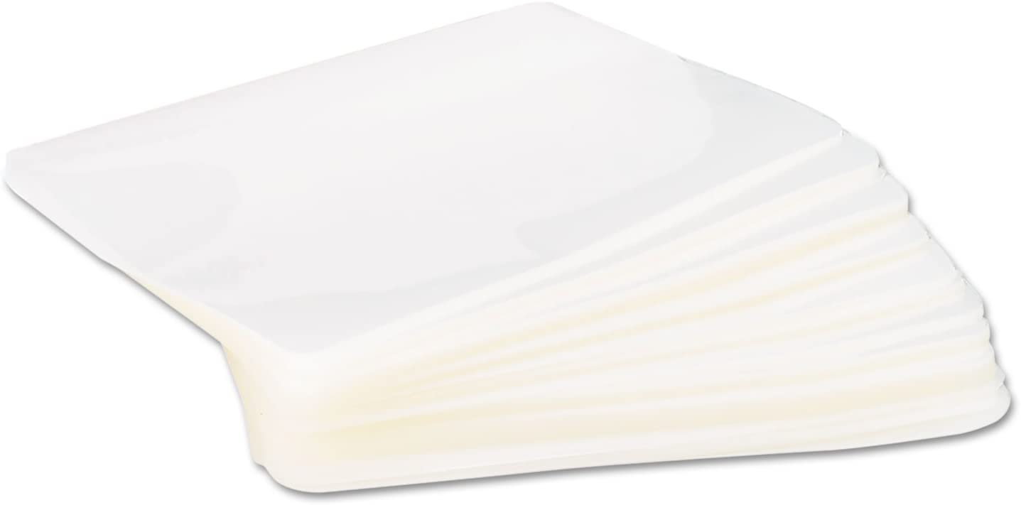 Universal 84680 Clear Laminating Pouches, 5 mil, 4 3/8 x 6 1/2, Photo Size, 100/Box