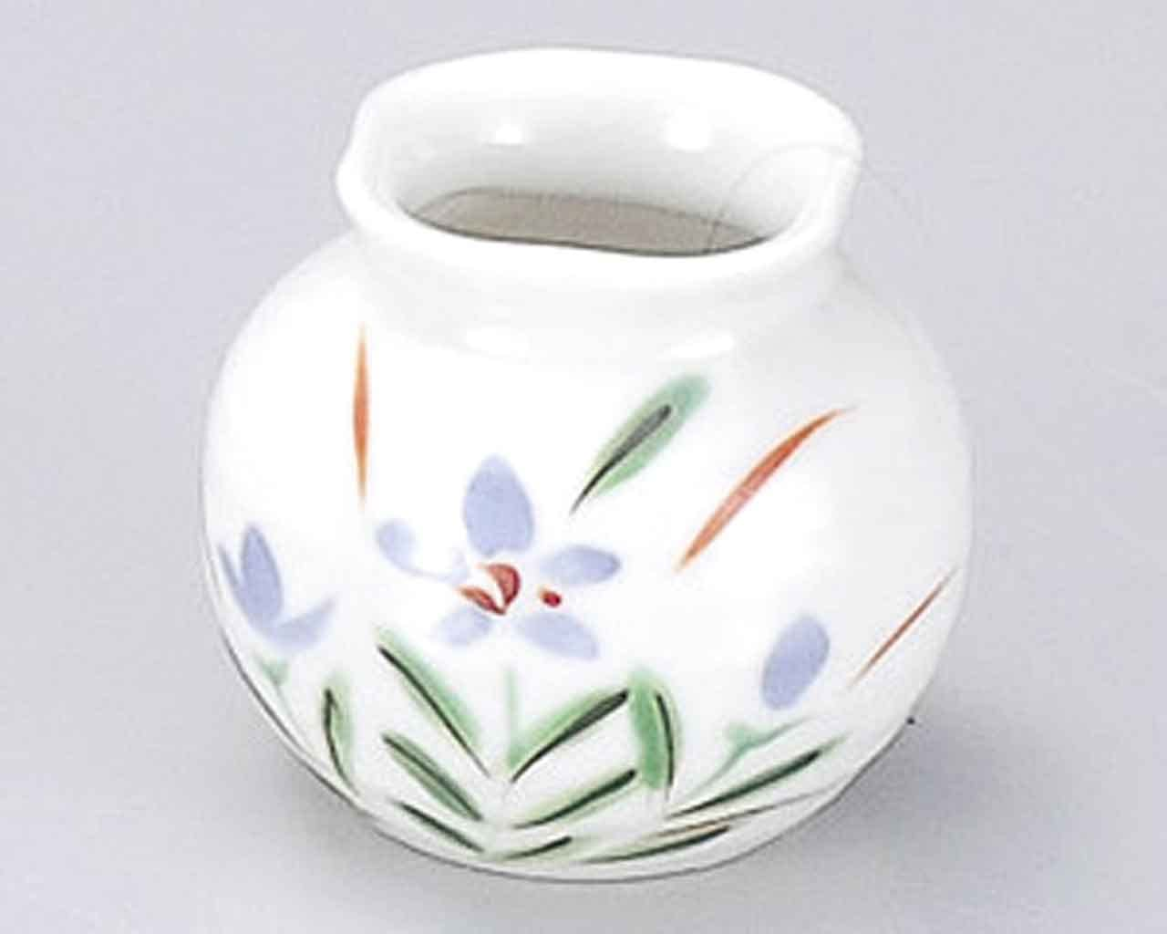 Akikusa 1.9inch Set of 2 Toothpick holders White porcelain Made in Japan