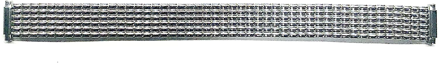 Timex Ultra-Flex Expansion Watchband Silver Tone fits 10mm to 14mm
