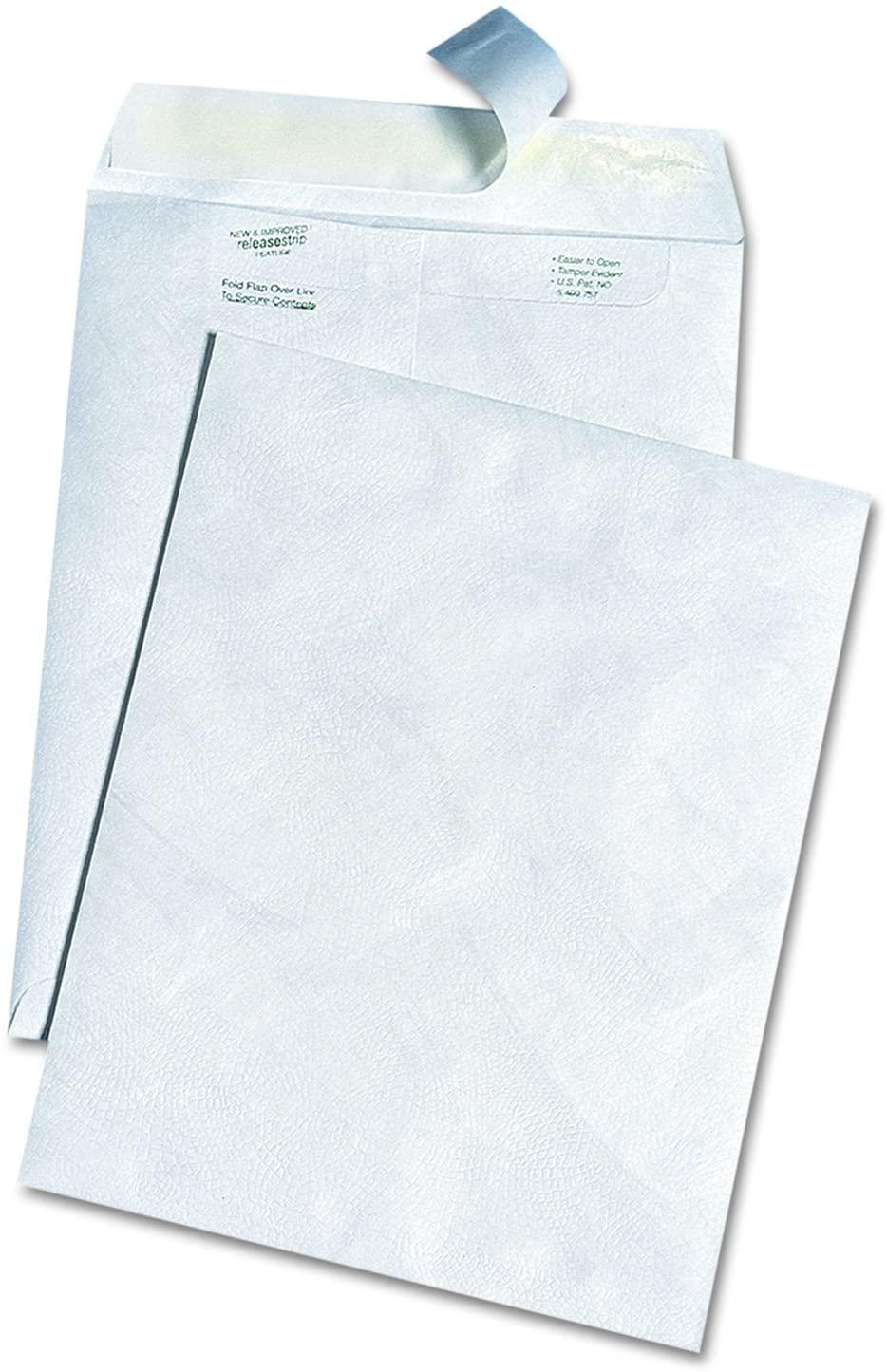 Survivor R3140 White Leather Tyvek Mailer, 10 x 13, White (Box of 100)