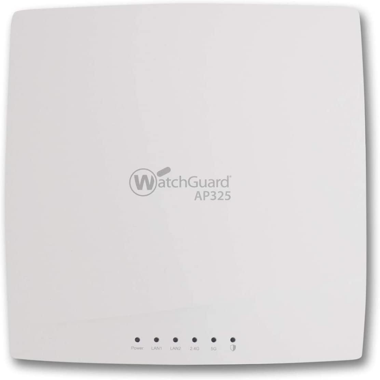 WatchGuard Secure AP325 with 3YR Basic Wi-Fi 802.11AC Wave 2 2x2:2 MU-MIMO Indoor (WGA35703)