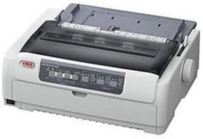 Oki Microline 620 Dot Matrix Printer - Monochrome - 9-pin - 700 cps Mono - 288 x 72 dpi - USB - Parallel 62433801 by OKI