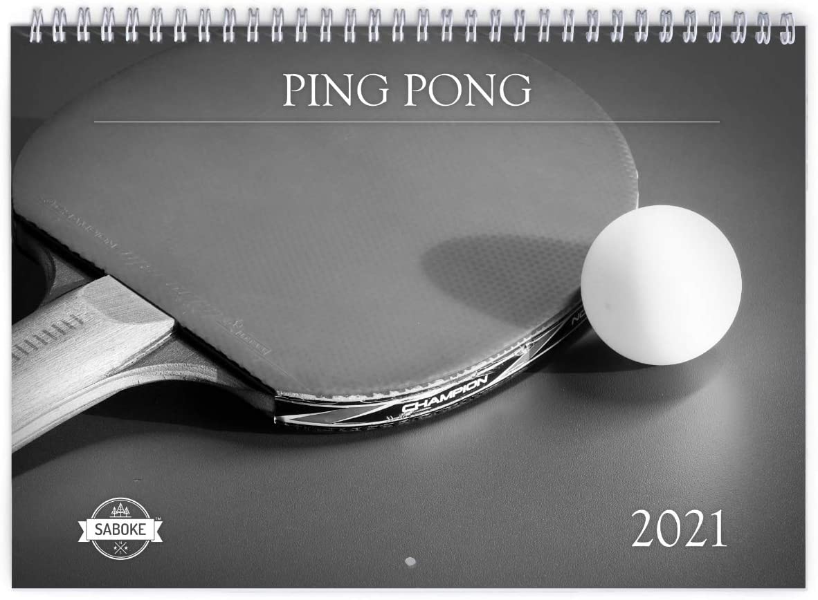 Ping Pong 2021 Wall Calendar