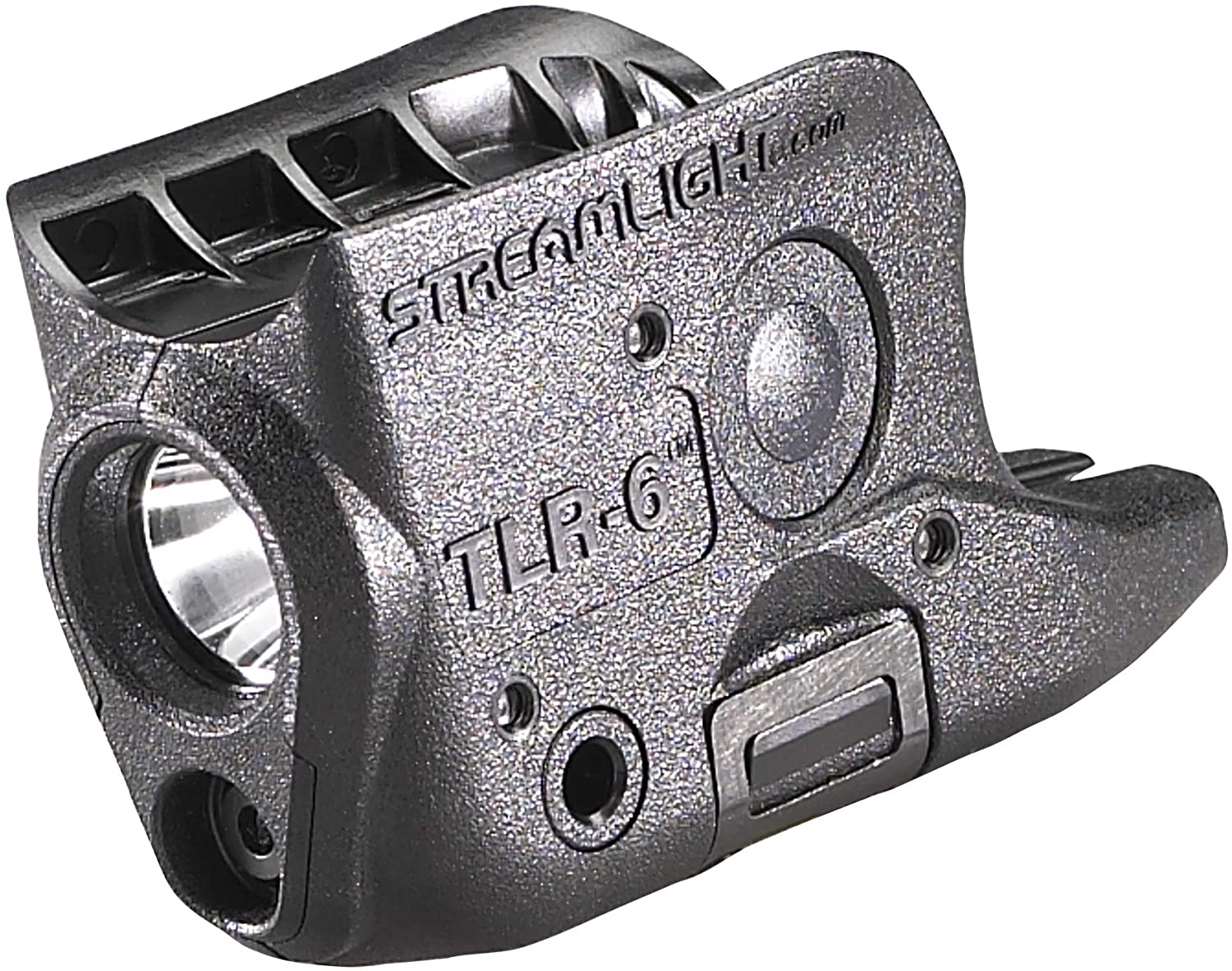 Streamlight 69270 TLR-6 Tactical Pistol Mount Flashlight 100 Lumen with Integrated Red Aiming Laser Designed Exclusively and Solely  for Glock 42/43, Black