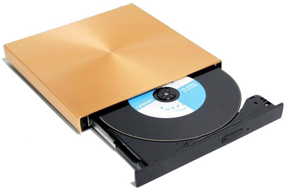 External CD DVD Drive,USB 3.0 CD DVD Burner Drive Writer Reader CD-RW/DVD-RW Player,High Speed Data Transfer External USB Optical Drives for Desktop/Laptop/MacBook