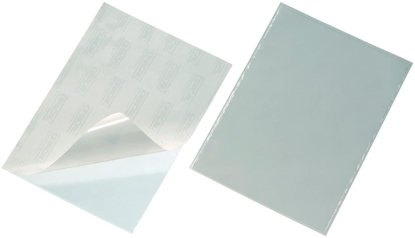 Durable POCKETFIX Self-Adhesive Pocket, A4 Size - Pack 50