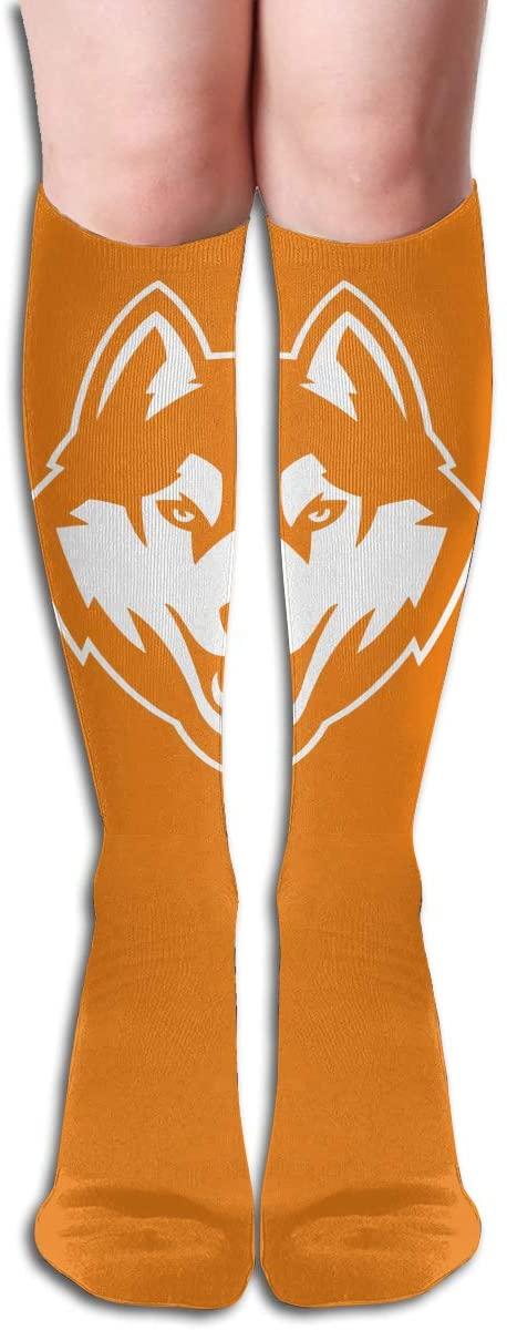 Uconn Men's/Women's Comfortable Casual Funny Long Knee High Socks Compression Socks Winter Warm Soccer Socks