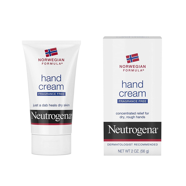 Neutrogena Norwegian Formula Hand Cream, Fragrance-Free (2 Ounce)