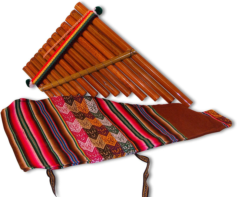 #637 Pan Flute Artisan Made Peru Andean Instrument 6
