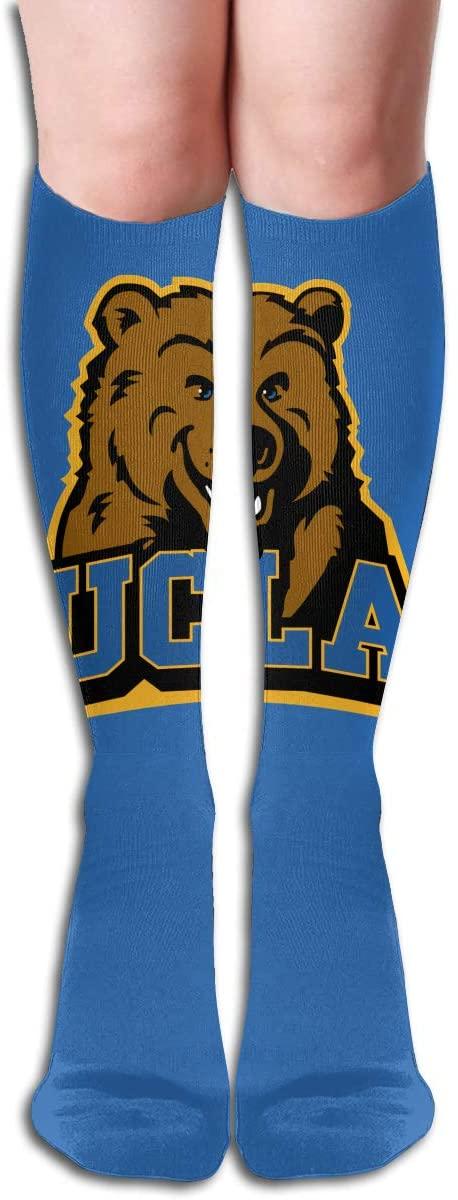 U-C-L-A Mens/Womens Comfortable Casual Funny Long Knee High Socks Compression Socks Winter Warm Soccer Socks