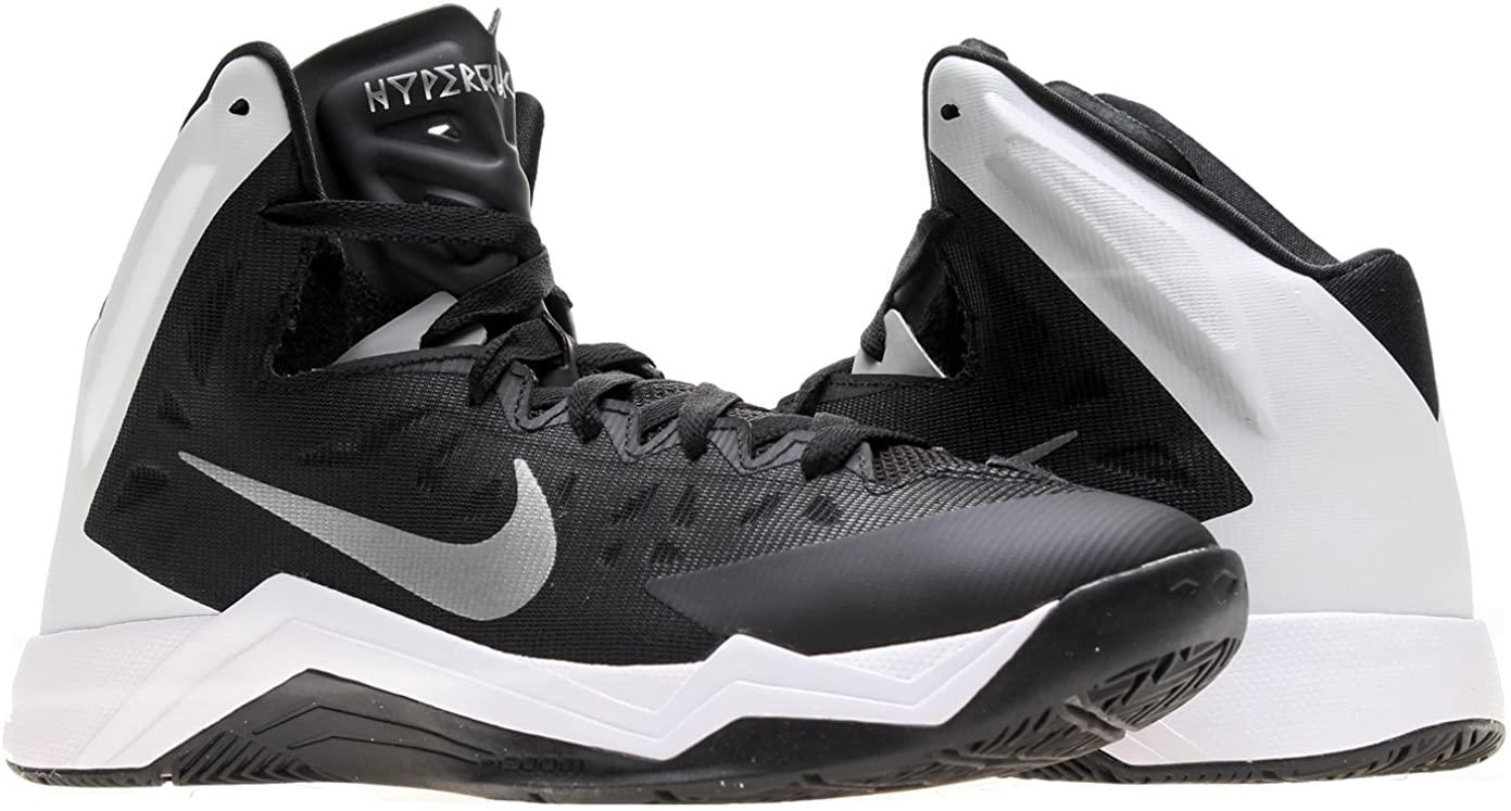 NIKE Zoom Hyperquickness TB Mens Basketball Shoes 599420-001 Black