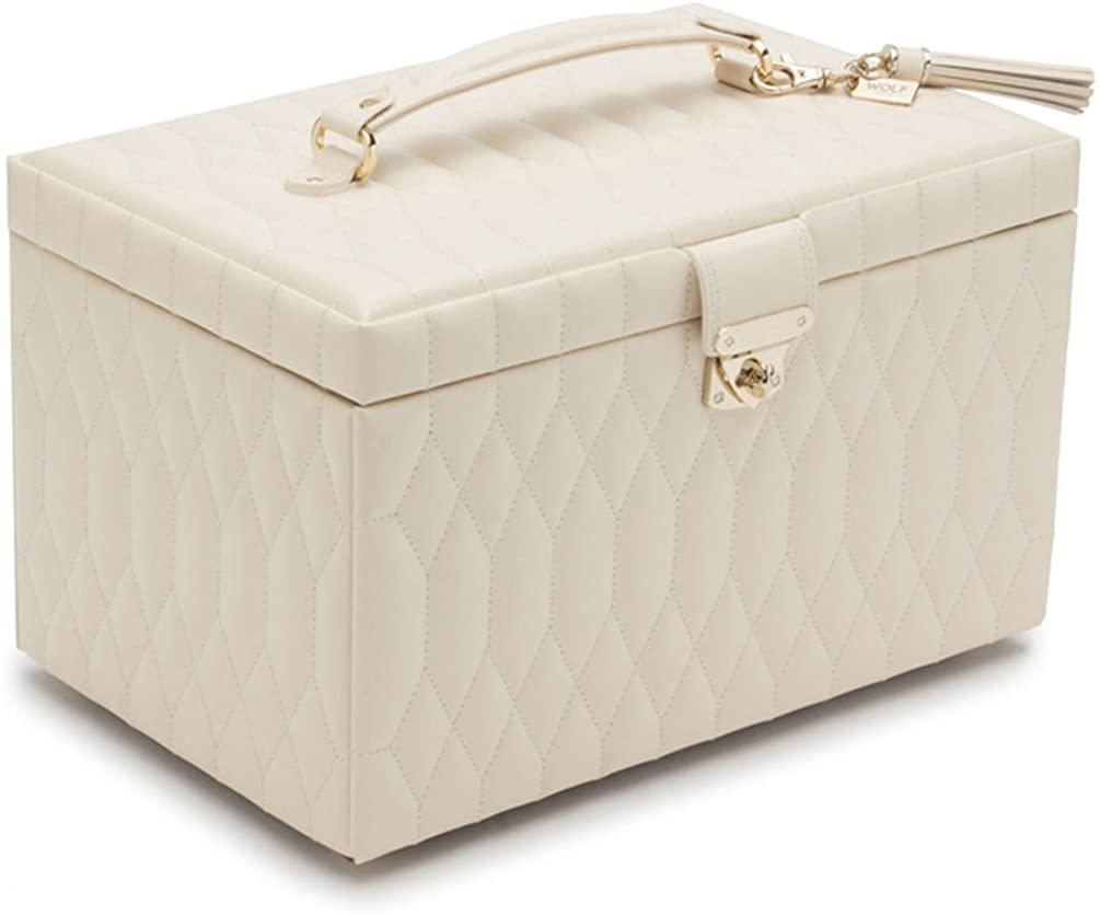 Caroline Large Jewelry Case by Wolf