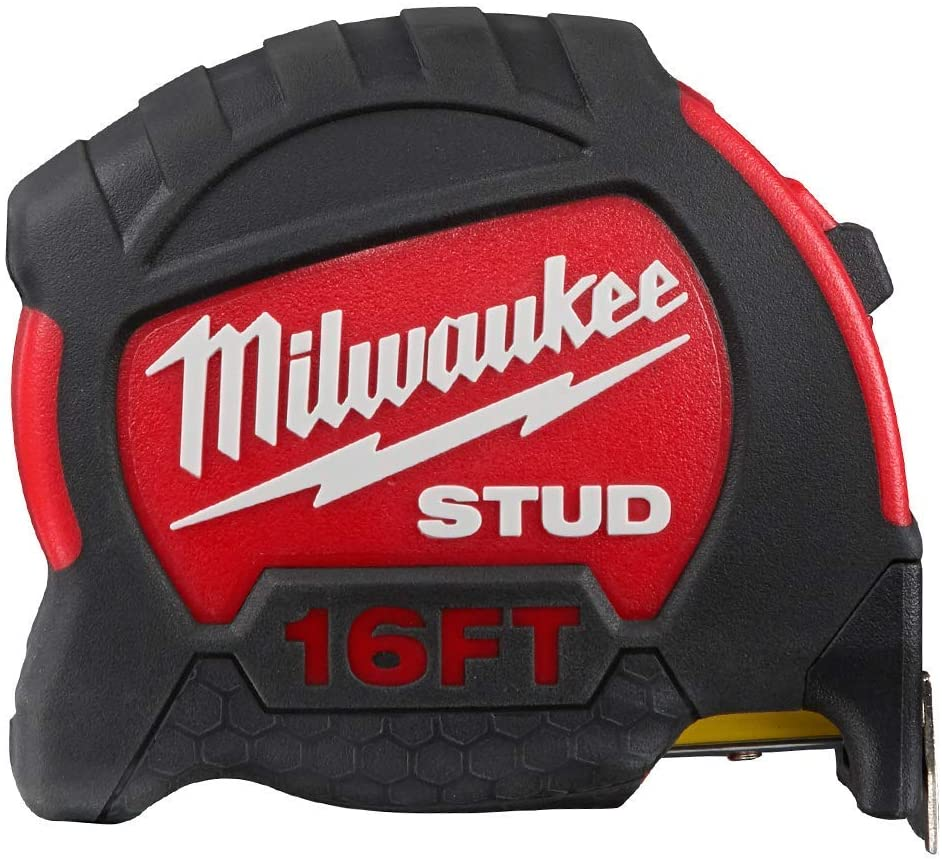 Milwaukee 48-22-9916 16-Foot Reinforced Impact Resistant Stud Tape Measure