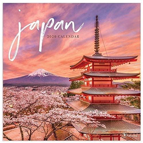 MISC 2020 Japan Wall Calendar Paper