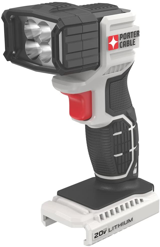 PORTER-CABLE 20V MAX LED Work Light, Tool Only (PCC700B)