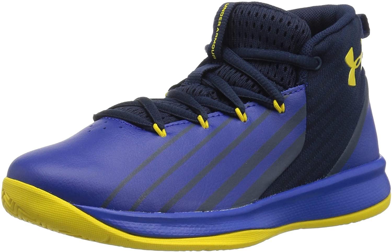 Under Armour Boys' Pre School Lockdown 3 Basketball Shoe