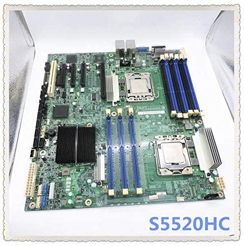 Calvas S5520HC game open virtual machine dual X58 dual network card LGA 1366 pin server motherboard