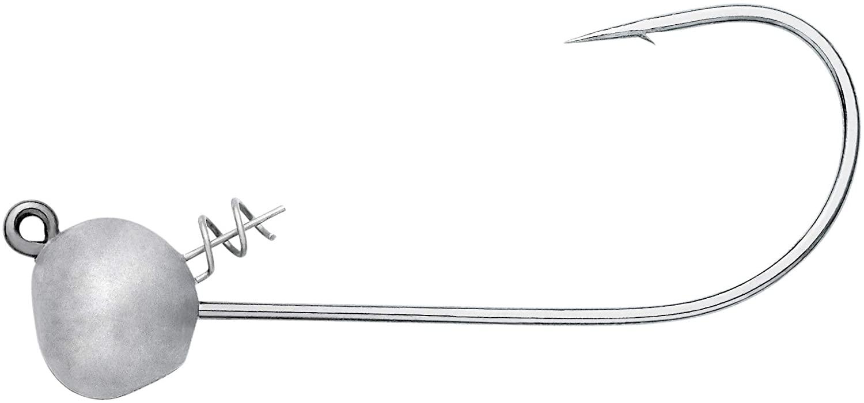 Owner 4156 Ultrahead Stick Bait Shaky Head with TwistLOCK, (4/0, 1/4oz, 4-Pack)