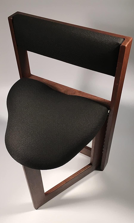 The Original Guitar Chair (19 Inch Seat Height, Walnut Hardwood)