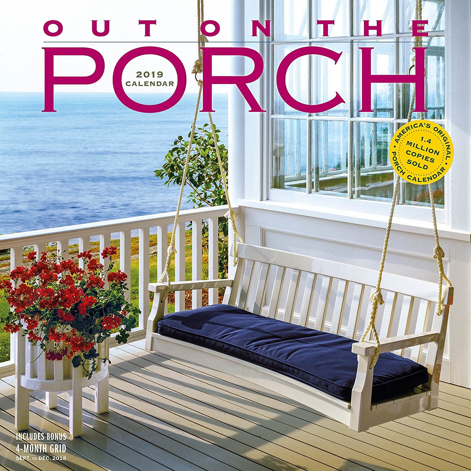 Out on The Porch Wall Calendar 2019 [12