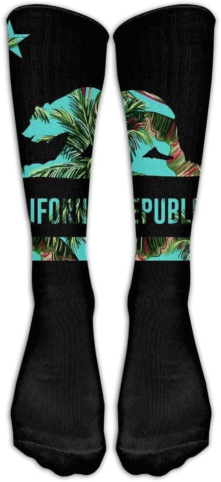California Republic Bear Stockings Football Socks Long Tube Socks, Great Quality Classics Knee High Socks For Women Men