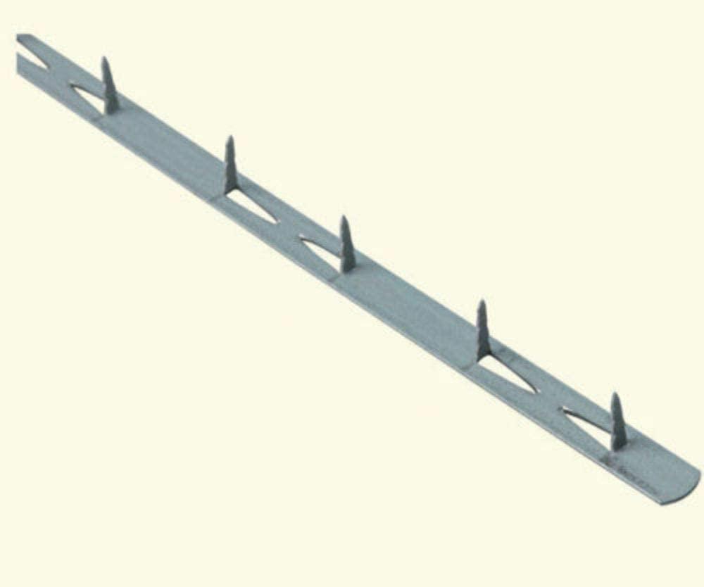 Upholstery/Supplies-Metal Tacking #10 Tack Strip 8 pc