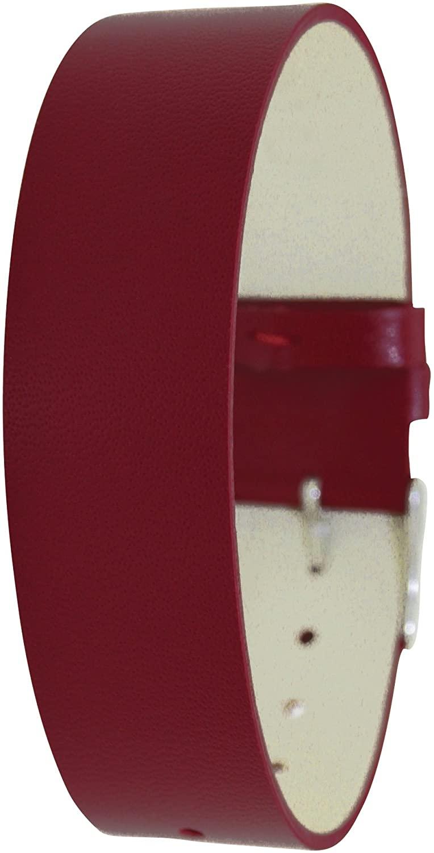Moog Paris CL-09 Full Grain Calf Leather Polished Finish Watch Strap
