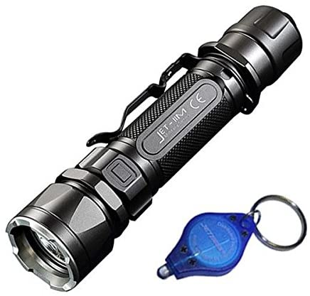 Jetbeam IIM LED Flashlight CREE XP-L HI LED -1,100 Lumens w/Exclusive Jetbeam Keychain Light