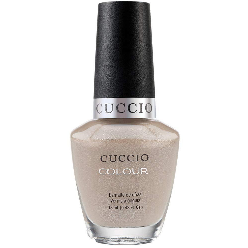 Cuccio Colour Nail Polish - Cream & Sugar - Nail Lacquer for Manicures & Pedicures, Full Coverage - Quick Drying, Long Lasting, High Shine - Cruelty, Gluten, Formaldehyde & 10 Free - 0.43 oz