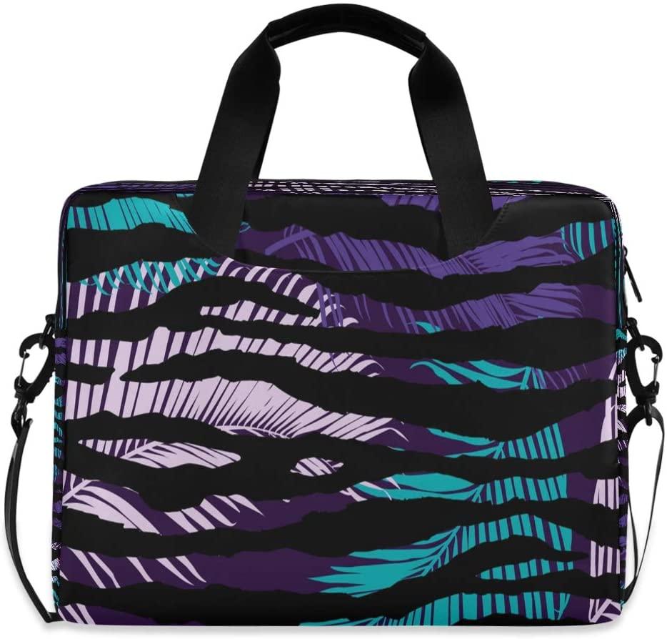 Laptop Bag Briefcase Shoulder Bag - Palm Leaves 15.6 Inch Tote Bag Laptop Messenger Shoulder Bag Carrying Briefcase, Great to Work