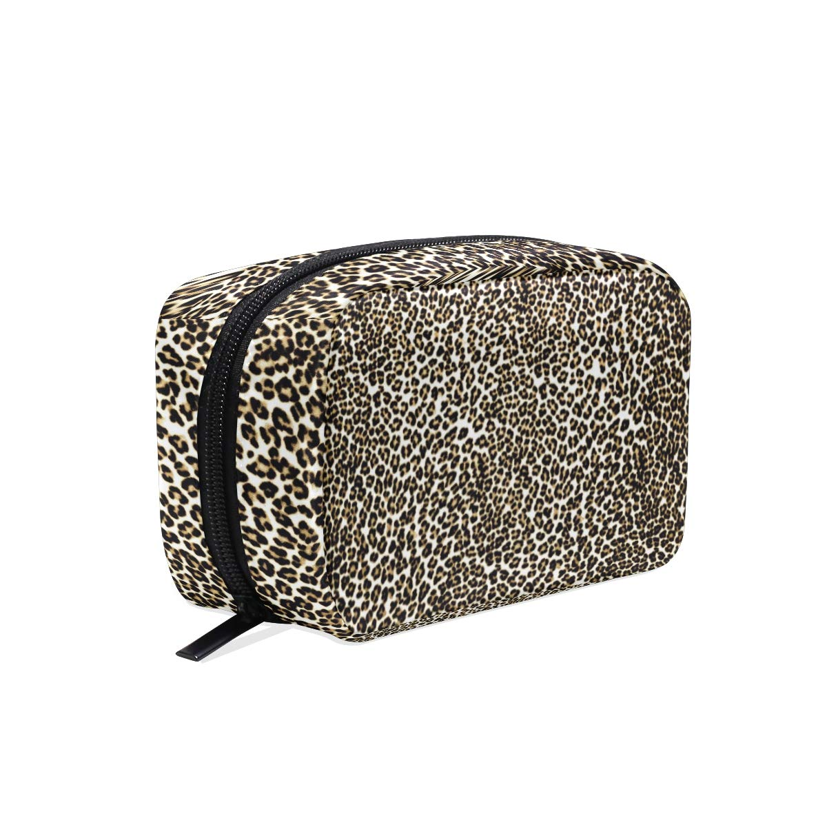 Leopard Print Cosmetic Bag Travel Makeup bags for women makeup pouch Travel bags for toiletries gifts(ii)
