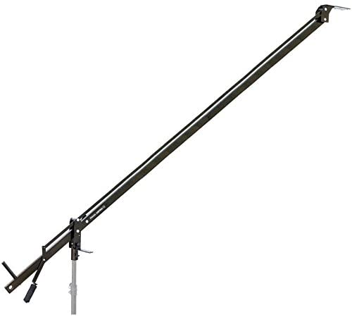 PROAIM 12ft Astra Professional Mini Camera Jib Arm for DSLR Video Film Camera | Heavy-Duty Yet Lightweight, Best Travel/Indoor/Outdoor Aluminum Crane with LCD Arm + Bag (JB-AS12-00)