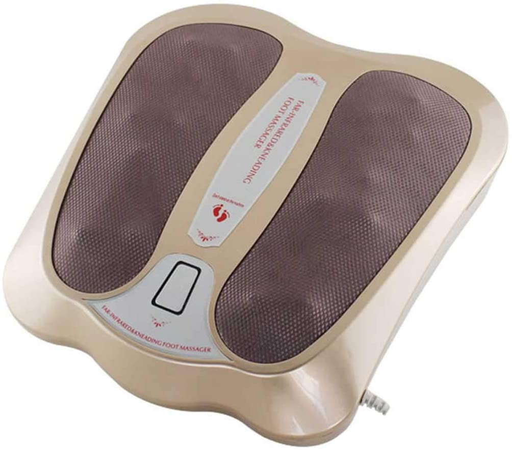 RUIXFFO Foot Infrared Heating Physiotherapy Instrument Foot Massager May Help to Increase Circulation May Help to Increase Circulation and Reduce Swelling & Pain, A