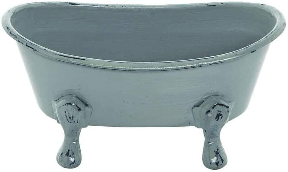 Mini Gray Bathtub Soap Dish