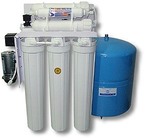 PurePro Light Commercial RO Water Purification System with 11G Tank ,200 GPD