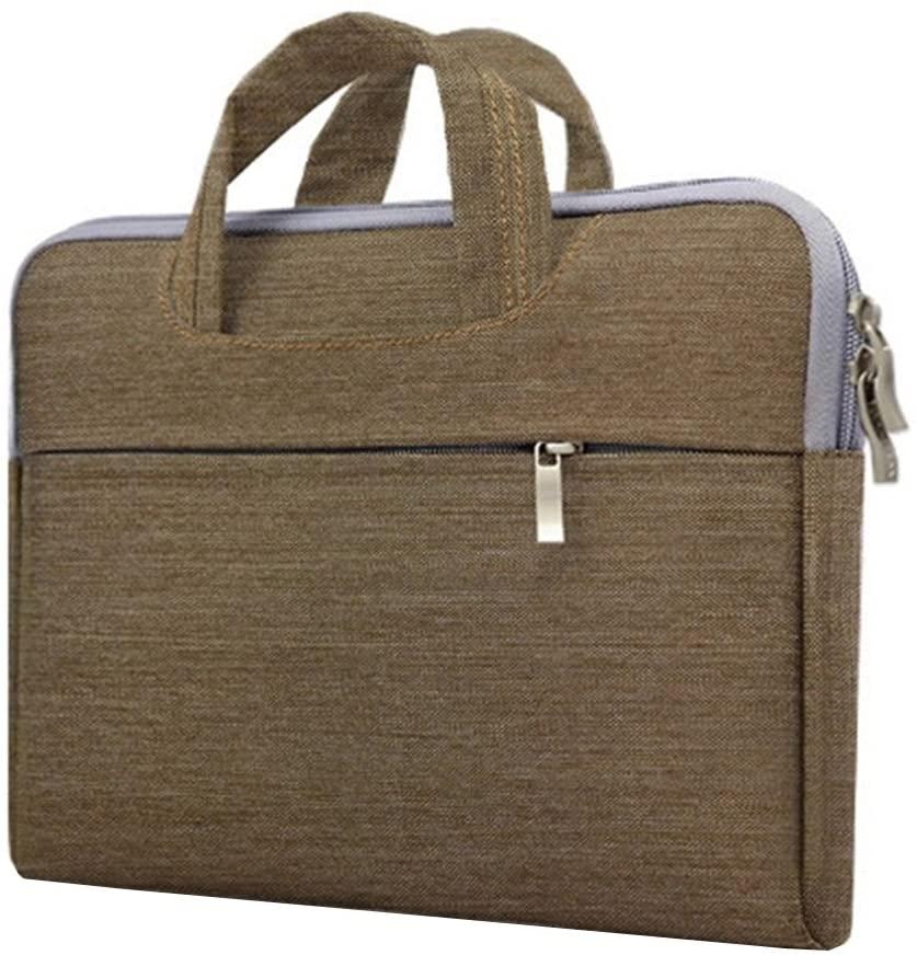Laptop Bag Notebook Case Briefcase Tote Unisex Lightweight Ultra-thin Green 15 Inch