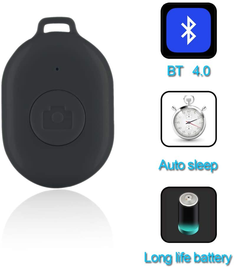 SelfieCom Wireless Camera Selfie Timer One Key Remote Shutter Remote Control for iOS&Android Smartphones