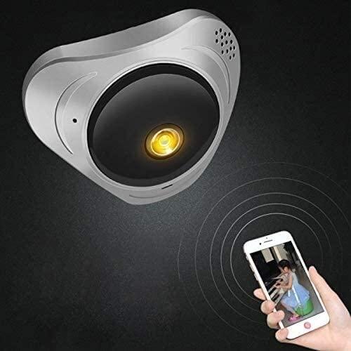 ETH Good Home Surveillance Camera RetteecDF-IPC008 1MP 360 Degree Rotating Smart Home HD WiFi Network Monitoring Panoramic Camera Camera