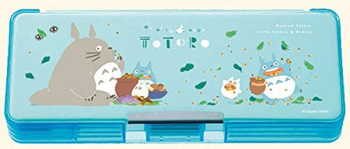Totoro My Neighbor Totoro pencil case hills and fields