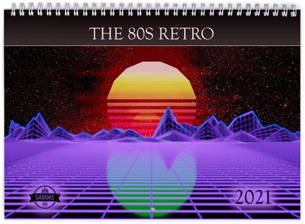80s Retro 2021 Wall Calendar