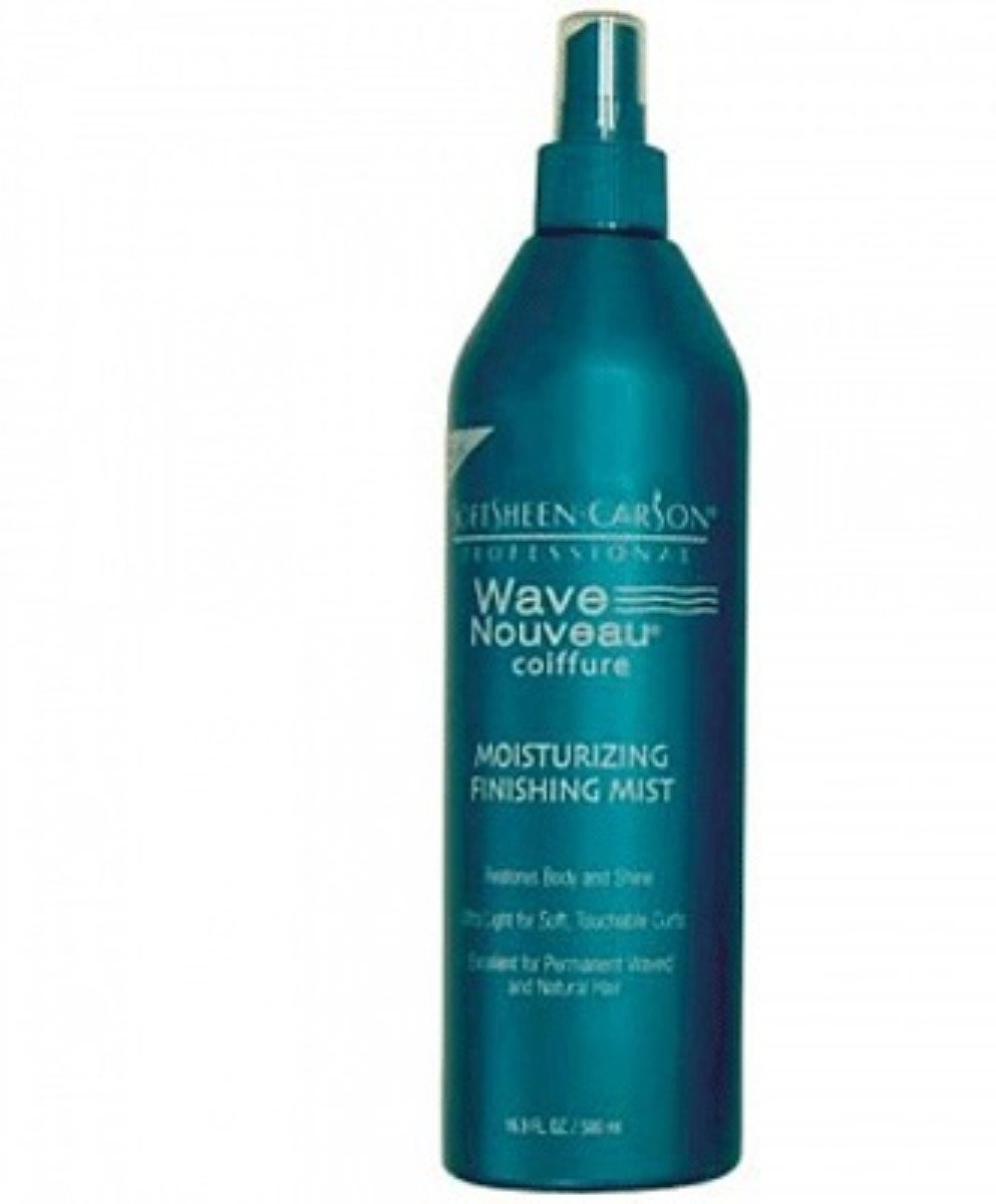 Wave Nouveau Mist Moisturizing Finishing 16.9 Ounce Pump (499ml) (2 Pack)