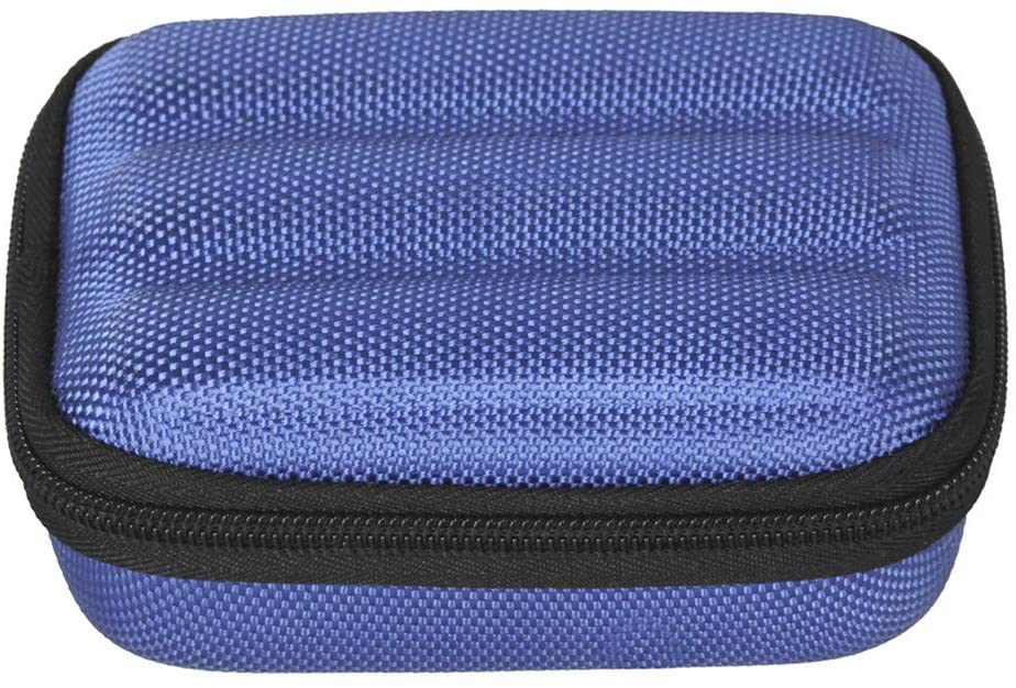 XuBa Harmonica Case Mouth Organ Box Storage Pack Waterproof Design with Thick Sponge Liner Full Body Protection blue