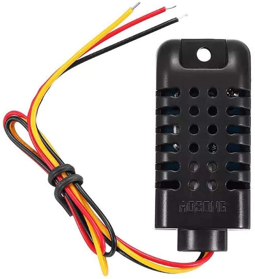 QinMei Zhou DHT21 / AM2301 DC 3.3-5.2V Capacitive Digital Temperature and Humidity Sensor Module