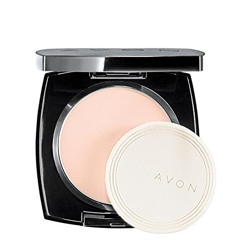Avon True Color Flawless Mattifying Pressed Powder - Pink Light