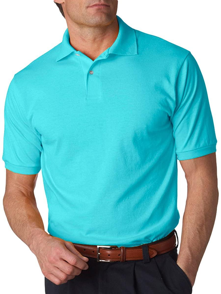 Jerzees Men's SpotShield Short Sleeve Preshrunk Polo Shirt