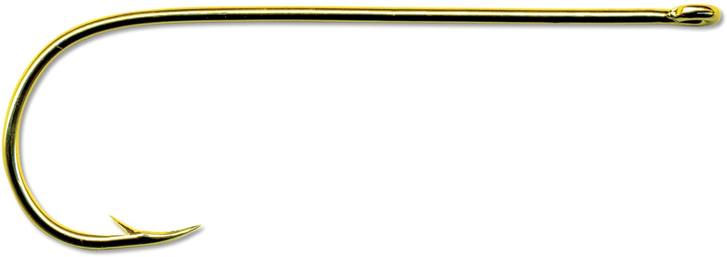 Mustad Classic Extra Fine Wire Point Bent in Aberdeen Hook (Pack of 100)