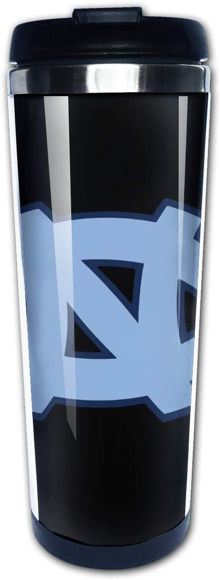 Unc Travel Mug Tumbler With Lids Thermos Coffee Cup Vacuum Insulated Flask Stainless Steel Hydro Water Bottle 14oz, Perfect Gift For Dad Mom Kids Holiday Birthday Christmas