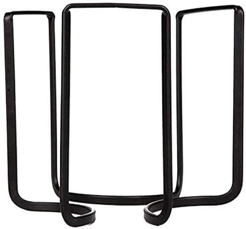 Iron drainer crockery shelf household stand European minimalist black white A + (color: black)