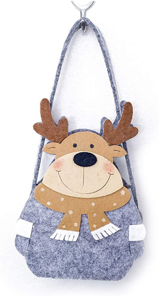 Takefuns Christmas Decorations Gift Bags Candy Bags Santa Pants Style Lovely Treat Bags for Children Best for Wedding Holiday New Year Small Size